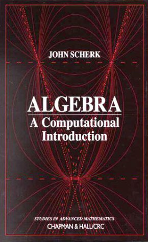 Large book cover: Algebra: A Computational Introduction