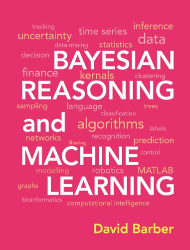 Large book cover: Bayesian Reasoning and Machine Learning