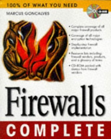 Large book cover: Firewalls Complete