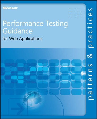 Large book cover: Performance Testing Guidance for Web Applications