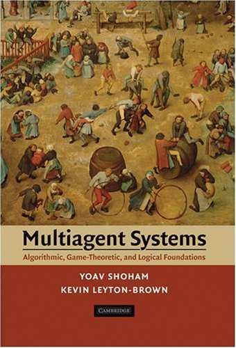 Large book cover: Multiagent Systems: Algorithmic, Game-Theoretic, and Logical Foundations