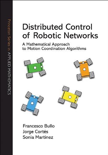 Large book cover: Distributed Control of Robotic Networks