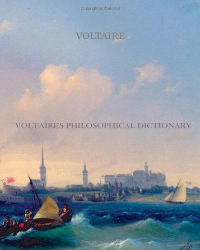 Large book cover: A Philosophical Dictionary