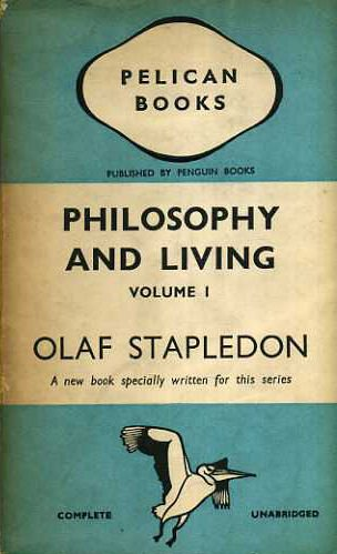 Large book cover: Philosophy and Living