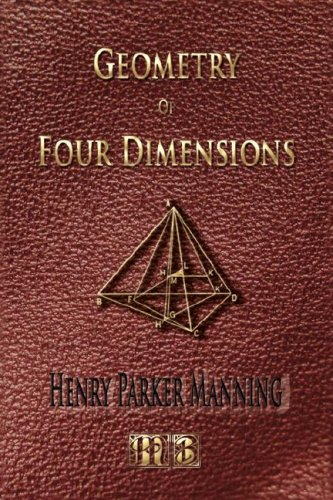 Large book cover: Geometry of Four Dimensions