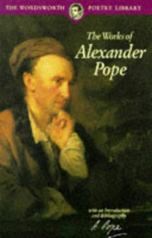 Large book cover: The Works of Alexander Pope