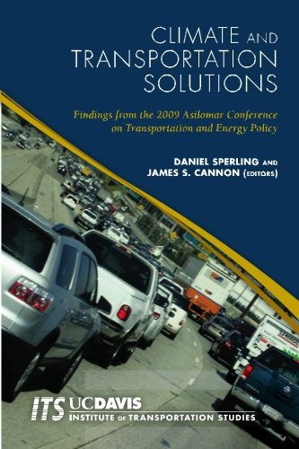 Large book cover: Climate and Transportation Solutions