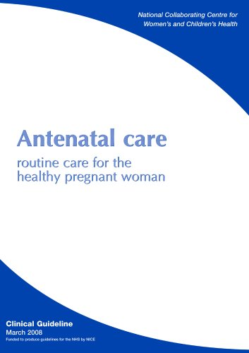 Large book cover: Antenatal Care