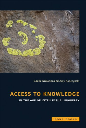 Large book cover: Access to Knowledge in the Age of Intellectual Property