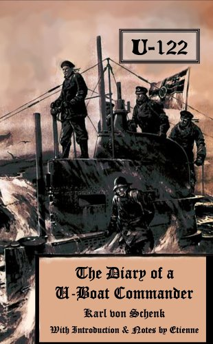 Large book cover: The Diary of a U-boat Commander