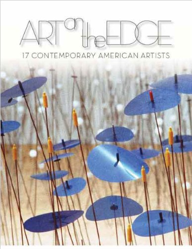Large book cover: Art on the Edge: 17 Contemporary American Artists