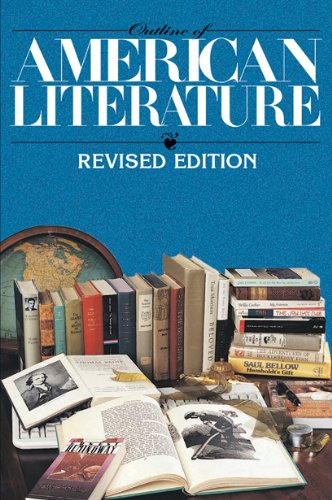 Large book cover: Outline of American Literature
