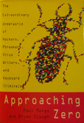 Large book cover: Approaching Zero