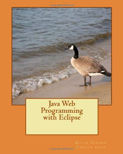 Large book cover: Java Web Programming with Eclipse