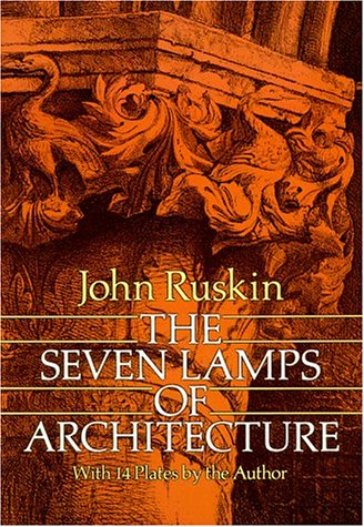 Large book cover: The Seven Lamps of Architecture