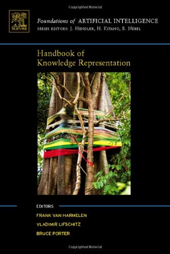 Large book cover: Handbook of Knowledge Representation