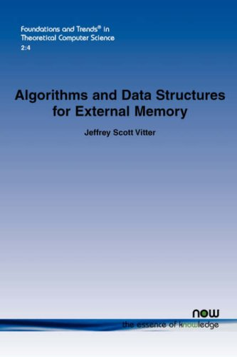 Large book cover: Algorithms and Data Structures for External Memory