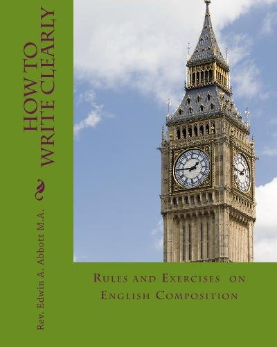 Large book cover: How To Write Clearly: Rules and Exercises on English Composition