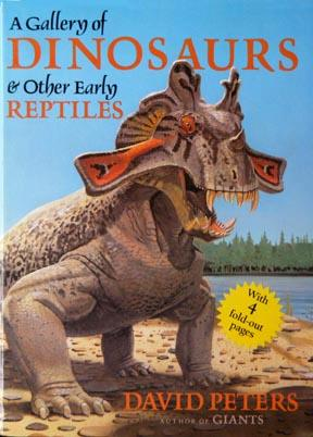 Large book cover: A Gallery of Dinosaurs and Other Early Reptiles