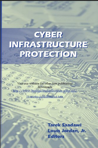 Large book cover: Cyber Infrastructure Protection