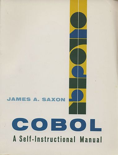 Large book cover: COBOL: A self-instructional manual