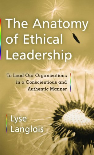 Large book cover: The Anatomy of Ethical Leadership