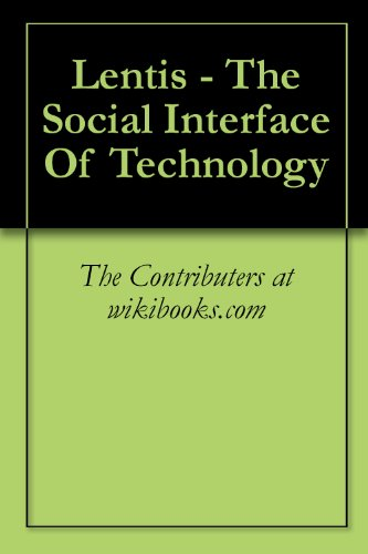 Large book cover: Lentis: The Social Interface of Technology