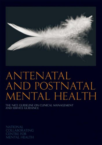 Large book cover: Antenatal and Postnatal Mental Health