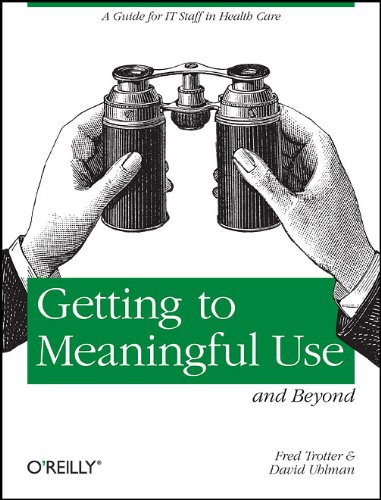 Large book cover: Getting to Meaningful Use and Beyond