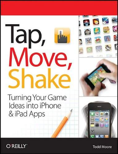 Large book cover: Tap, Move, Shake