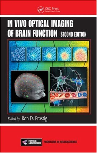 Large book cover: In Vivo Optical Imaging of Brain Function