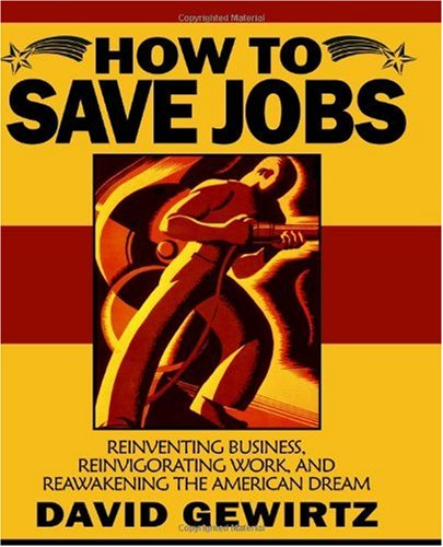 Large book cover: How To Save Jobs