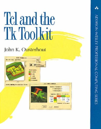 Large book cover: Tcl and the Tk Toolkit