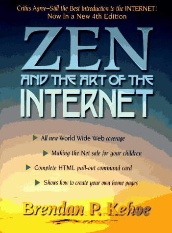 Large book cover: Zen and the Art of the Internet