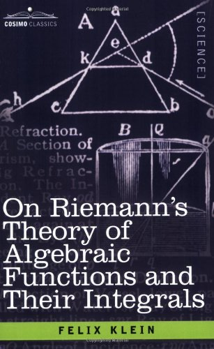 Large book cover: On Riemann's Theory of Algebraic Functions and their Integrals