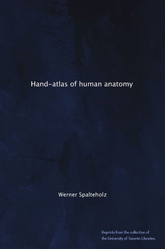 Large book cover: Hand Atlas of Human Anatomy