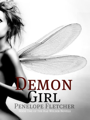 Large book cover: The Demon Girl