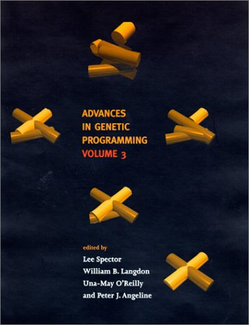 Large book cover: Advances in Genetic Programming, Vol. 3