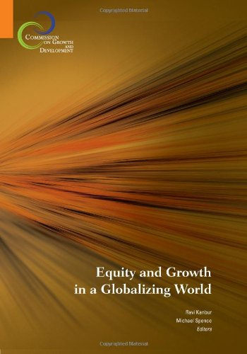 Large book cover: Equity and Growth in A Globalizing World