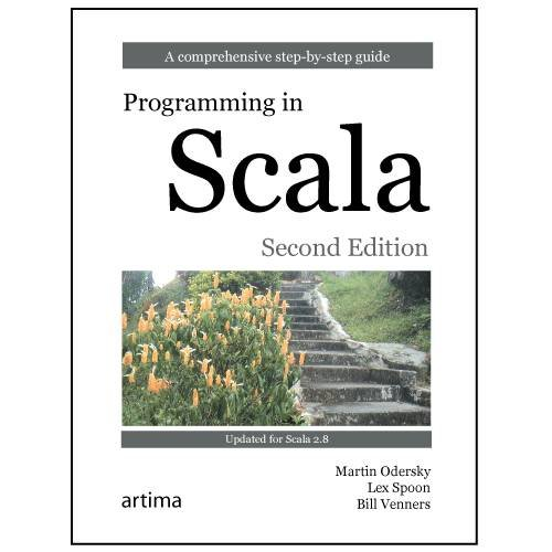 Large book cover: Programming in Scala