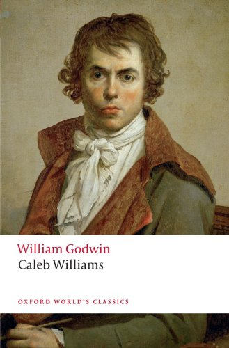 Large book cover: Caleb Williams