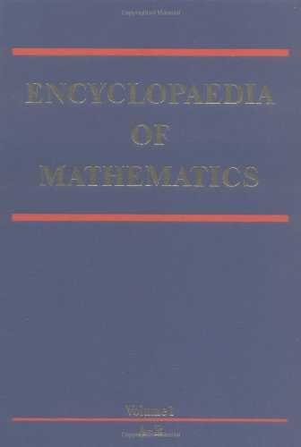 Large book cover: Encyclopaedia of Mathematics
