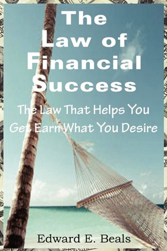 Large book cover: The Law of Financial Success