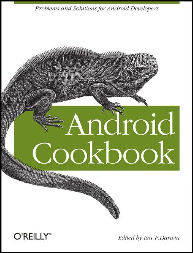Large book cover: Android Cookbook
