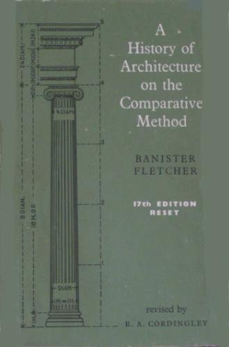 Large book cover: A History of Architecture on the Comparative Method