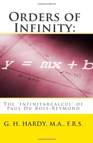 Large book cover: Orders of Infinity