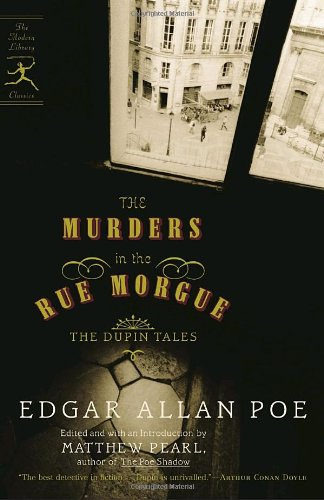 Large book cover: The Murders in the Rue Morgue