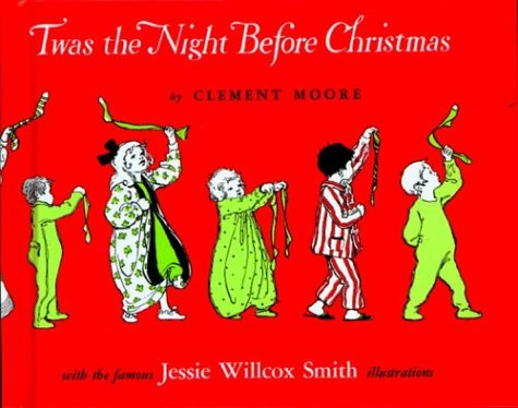 Large book cover: Twas the Night before Christmas