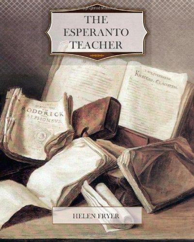 Large book cover: The Esperanto Teacher