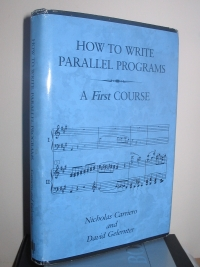 Large book cover: How to Write Parallel Programs: A First Course